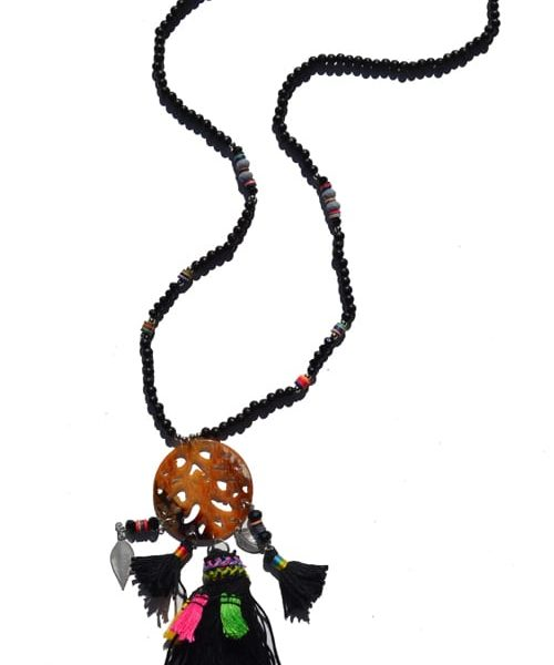 Chinese disc necklace