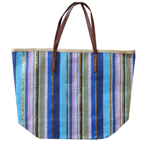 Multi-stripe bag