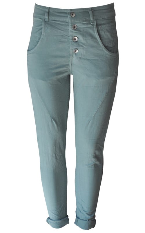 2-Textured 4 button pants