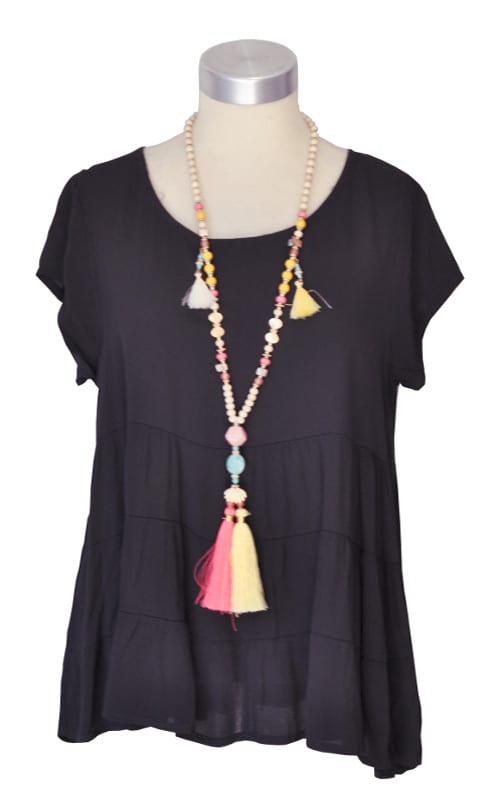 Tiered swing top