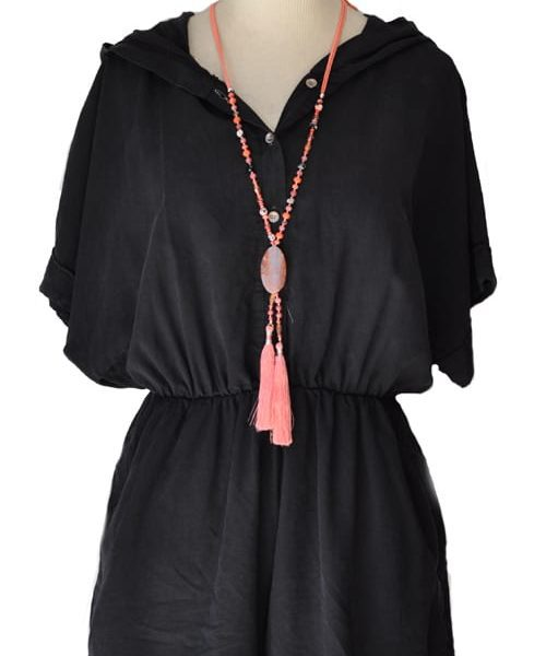 Hooded playsuit