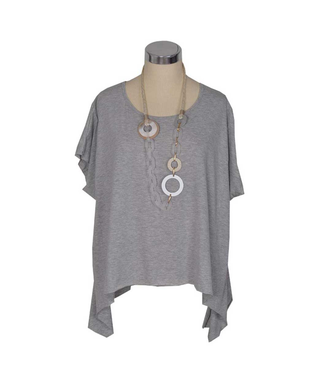 Cocoon flared top