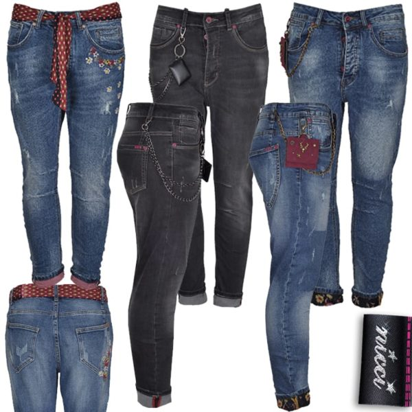Chain bag jeans