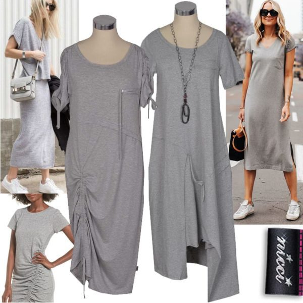 Cocoon drawstring dress