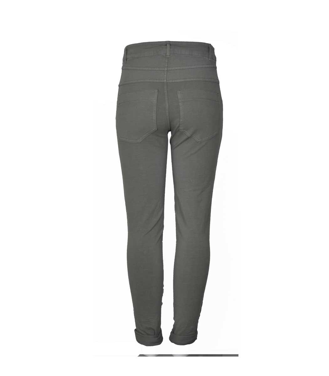 2 textured 4 button pants