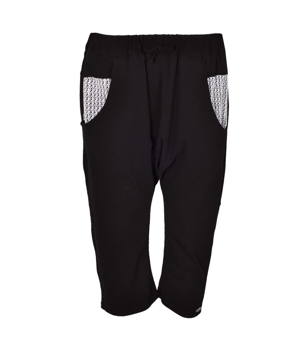 Cocoon contrast pants