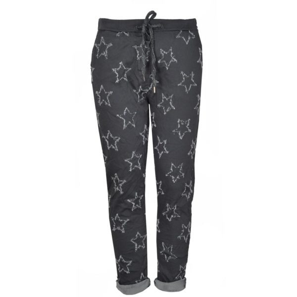 Frayed star pants