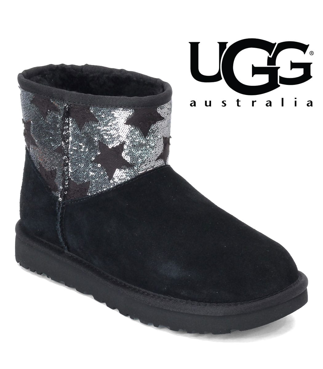 Ugg classic mini sequin star boot