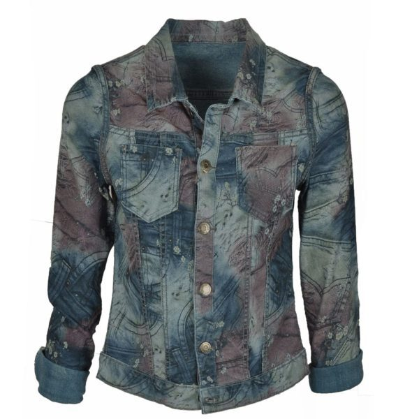 Reversible patch jacket