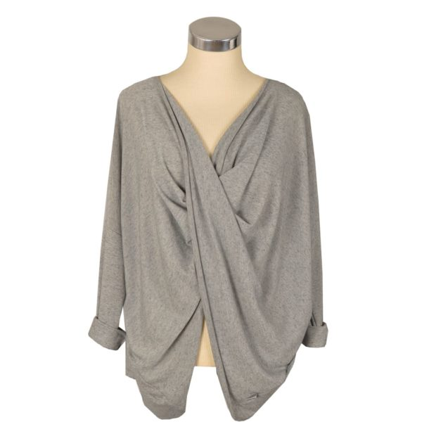 Cocoon knot tunic