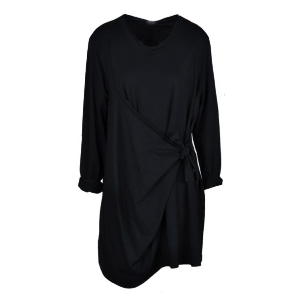 Front wrap tunic