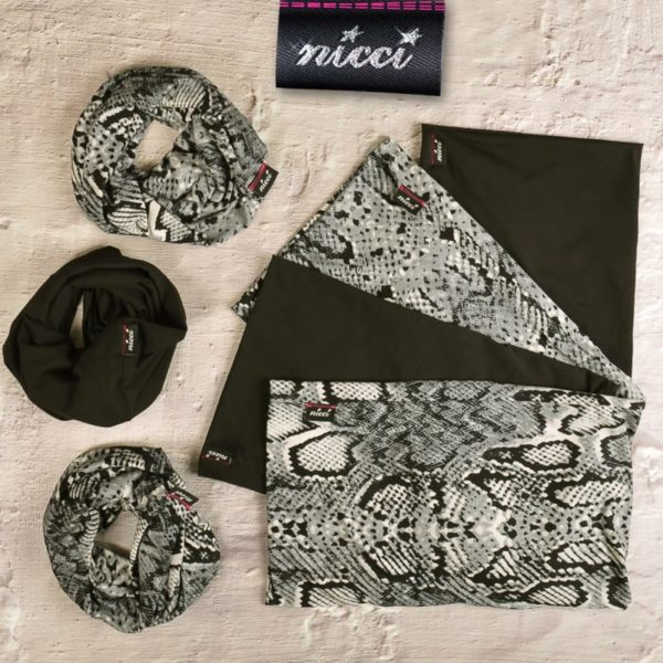 Nicci Luxurious Double Layered Buff