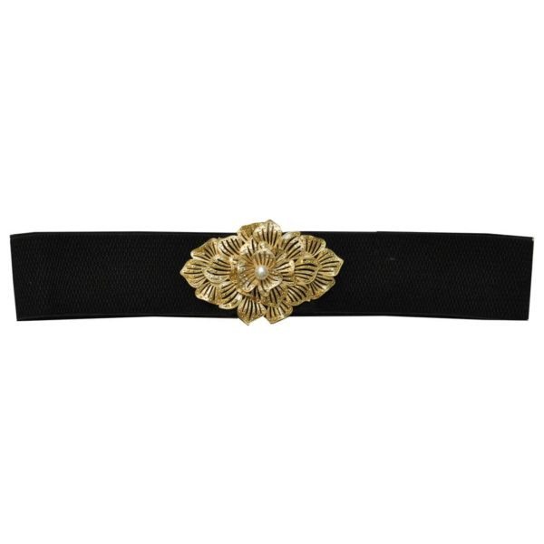 Pearl elasticated belt