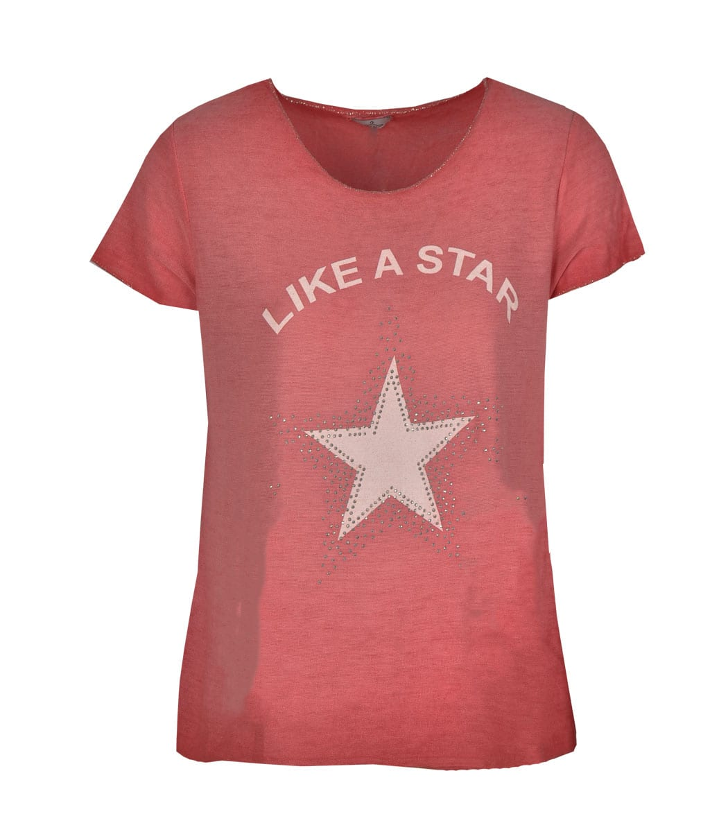 Like a star print t-shirt