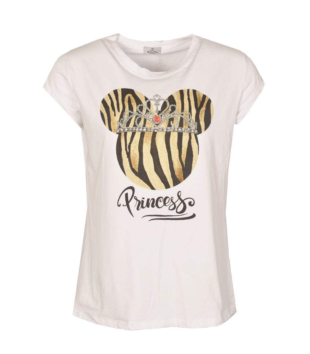 Princess print top