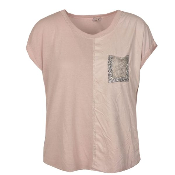 Diamante pocket top