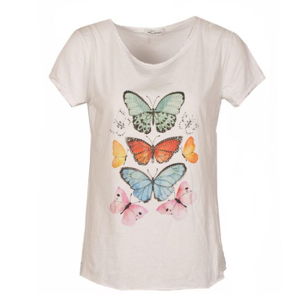 Butterfly stud top
