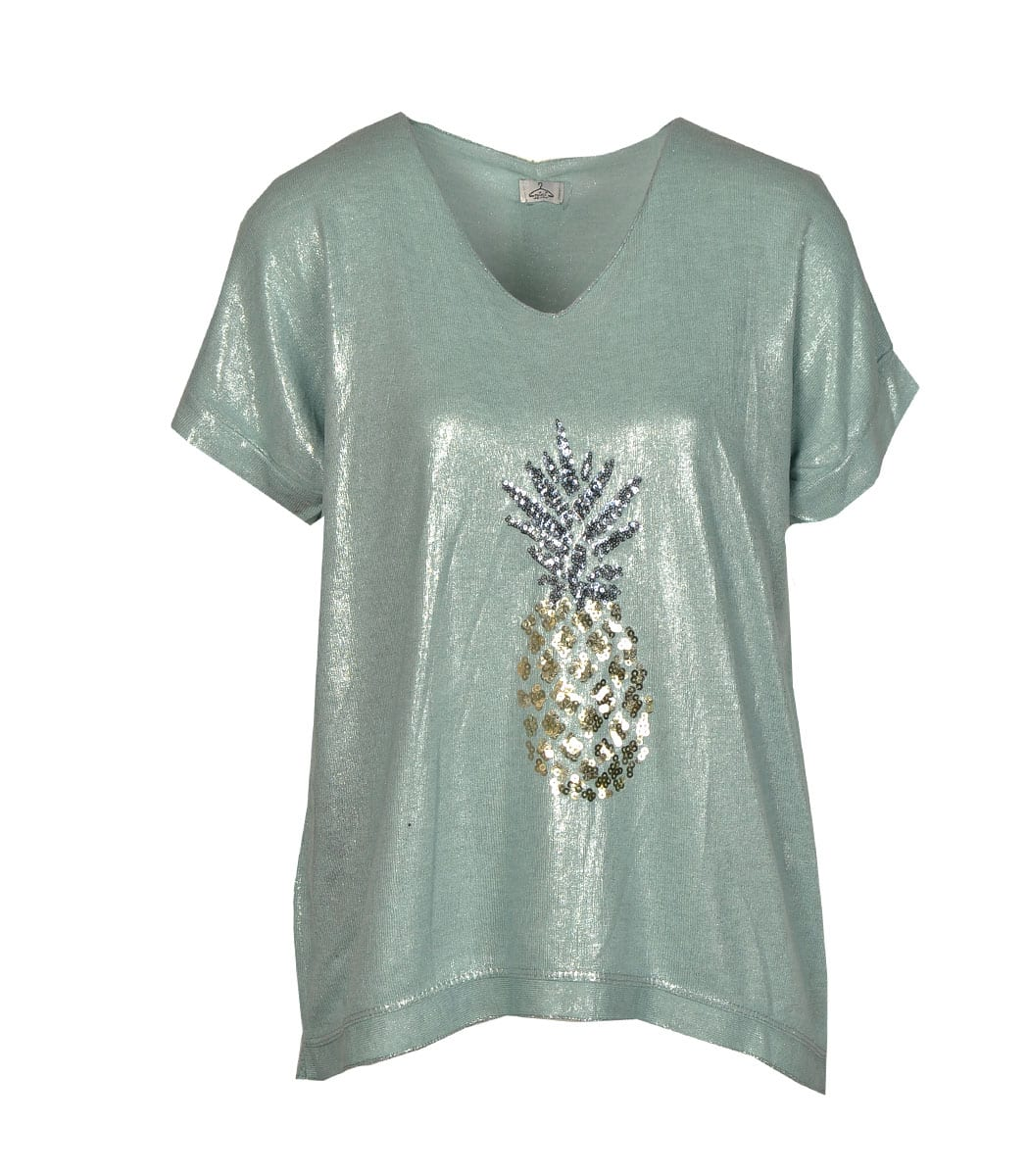 Pineapple motiv t-shirt
