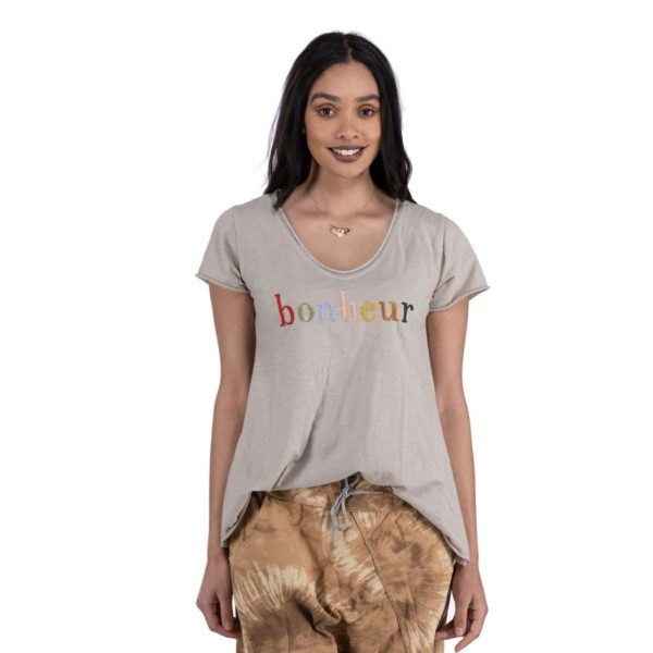 Bonheur embroidered top