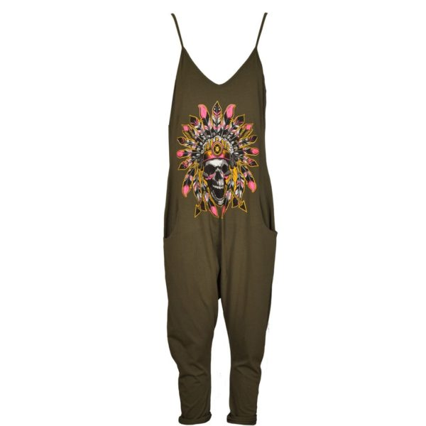 Indian chief harem jumpsuit