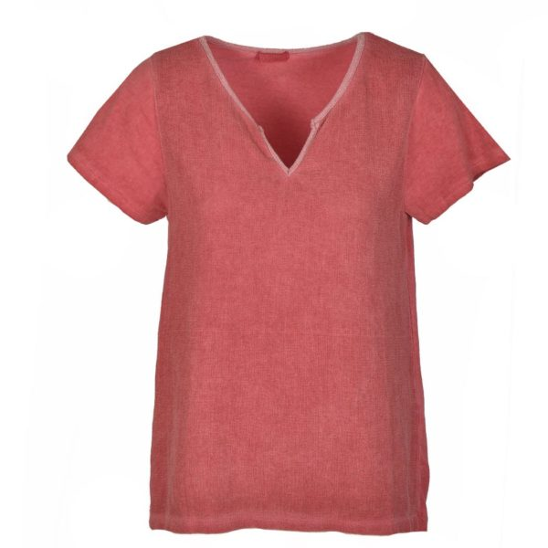 V-neck 2 textured top