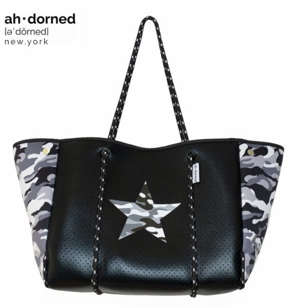 Ah-Dorned New York neoprene tote bag