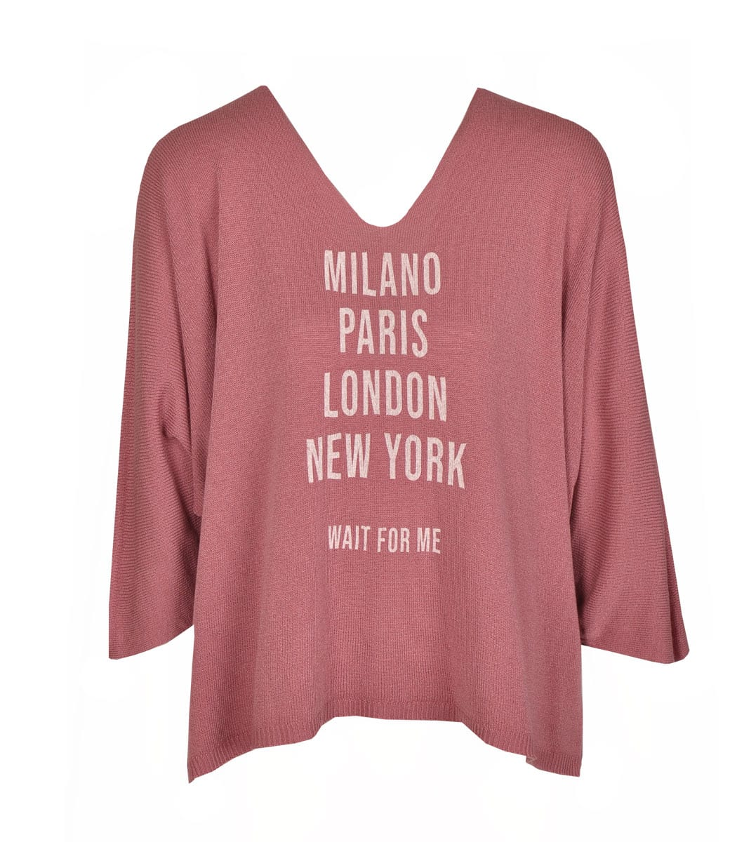 Milano knit top