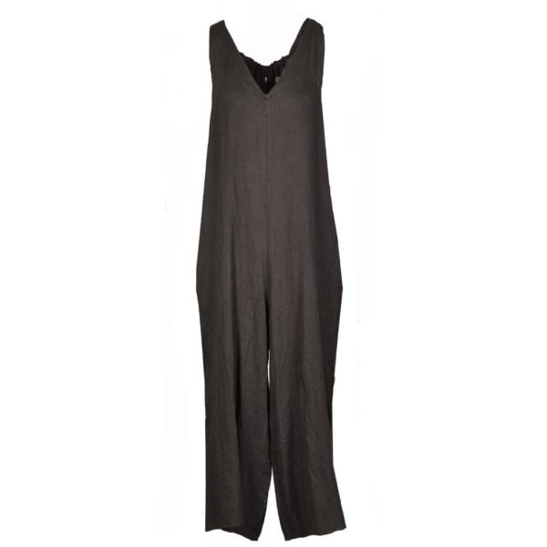 Palazzo dungaree jumpsuit