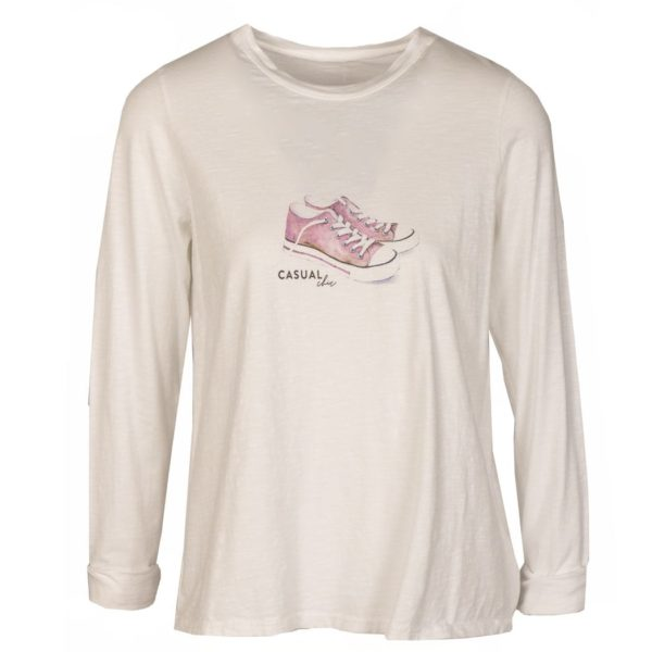 Converse long sleeve top