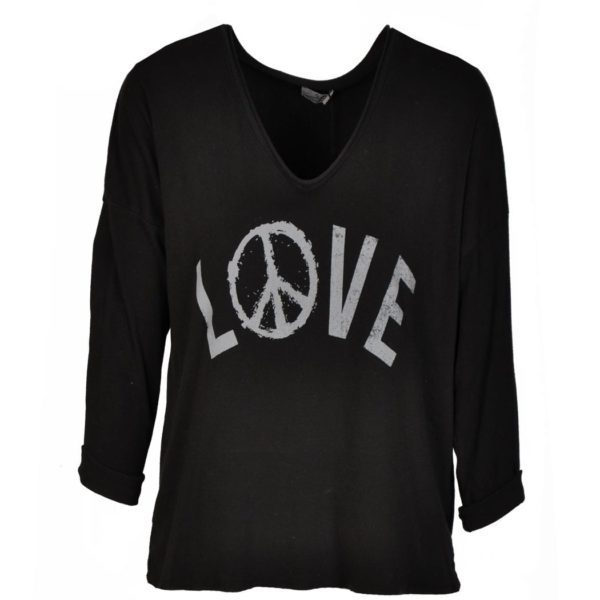 Love & peace sign top