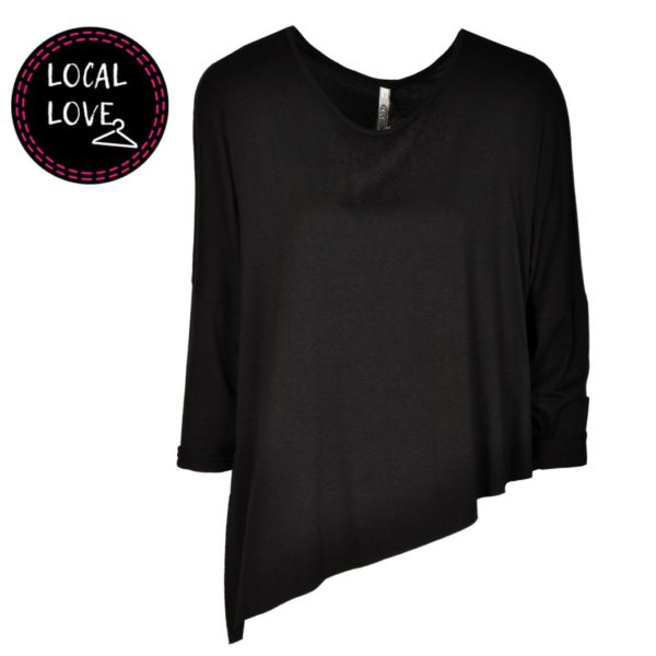 Cocoon boxy top