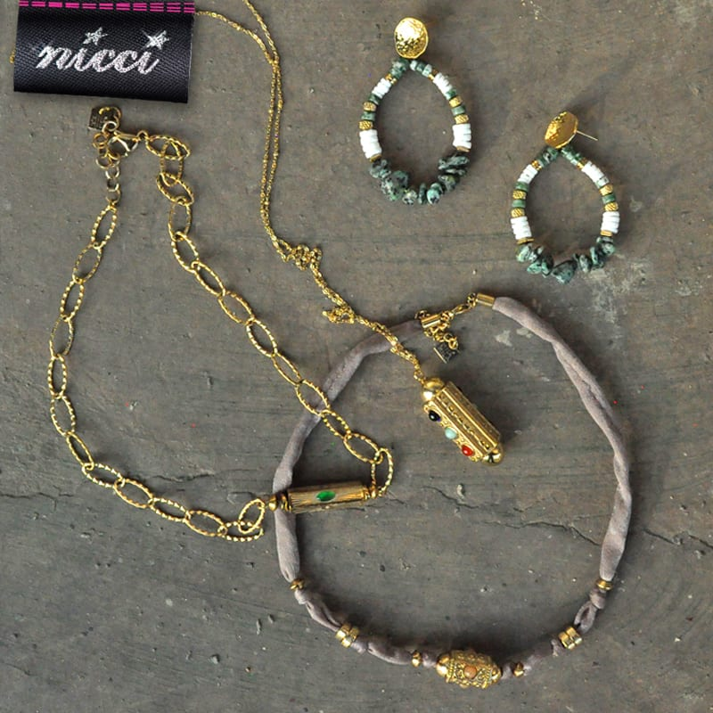 Moroccan inspired necklace