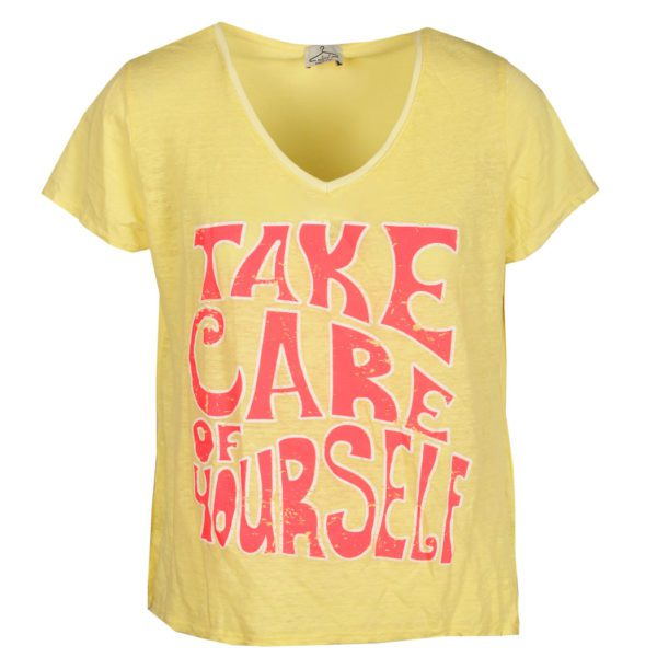 Take care of yourself print top